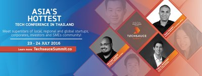 Techsauce Summit 2016: Asia's Hottest Tech Conference in Thailand