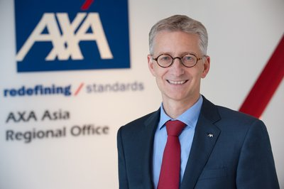 Jean-Louis Laurent Josi, member of the AXA Group Management Committee and Regional Chief Executive Officer of AXA Asia