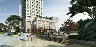 Scheduled for completion by end of this year, EXCHANGE SQUARE is Phnom Penh's latest Grade A office building and lifestyle retail shopping mall.