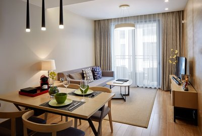 One-Bedroom Residence of One Sunland Serviced Suites managed by Lanson Place