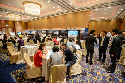 Vibrant atmosphere as enthusiastic investors and buyers attend THE LINE Asoke-Ratchada's two day pre-sales roadshow