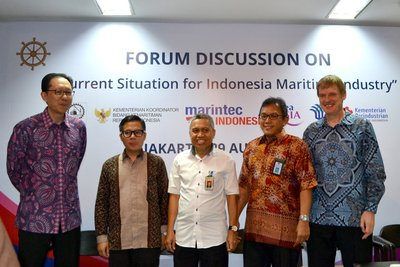 Discussions on the current situation of Indonesia's maritime industry, challenges towards the global economy and investment opportunities in the maritime industry