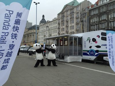 PANDA RAIL IN WARSAW