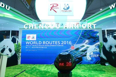 Chengdu played host to the 22nd World Route Development Forum