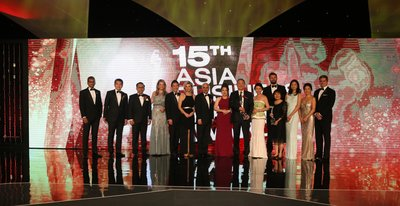 CNBC International and winners of the 2016 ABLA