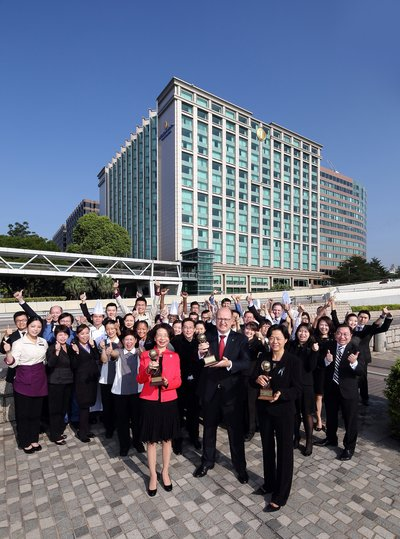 InterContinental Grand Stanford Hong Kong won three coveted 2016 World Travel Awards: World's Leading Luxury Business Hotel, Asia's Leading Business Hotel and Hong Kong's Leading Business Hotel