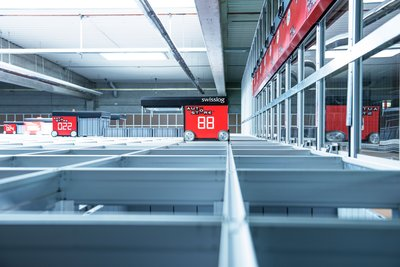 Swisslog's Innovative AutoStore solutions to double the volume of storage capacity within the current footprint at Tuas Warehouse.