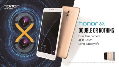 Honor 6X - Double or Nothing