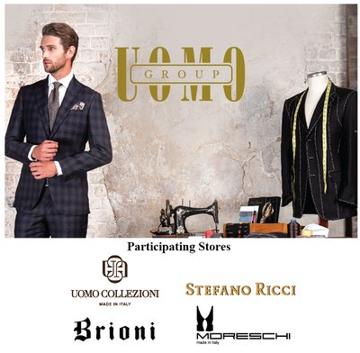 Uomo Group Made to Measure events, 2017