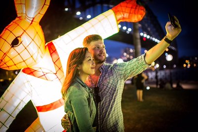 Sydney Turns Red to Celebrate the Year of the Rooster