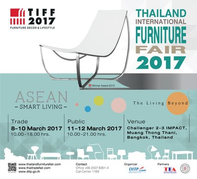 Thailand International Furniture Fair 2017 (TIFF 2017)