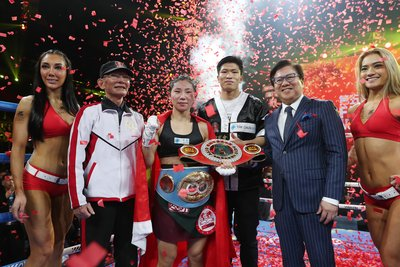 Cai Zongju Becomes China's First IBF Female Champion on the 2017 CCTV 5th Chinese Lunar New Year IBF World Championship