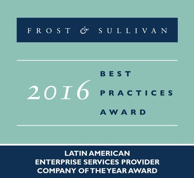 Frost & Sullivan recognizes Level 3 Communications, Inc. (NYSE: LVLT) with the 2016 Latin American Company of the Year Award.