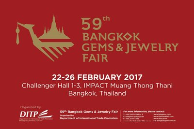 "The 59th Bangkok Gems & Jewelry Fair Shines Spotlight on ""The Showcases"" through 6 Thematic Zones for Niche Markets"