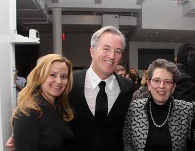 Facebook's Emily Vacher, LION screenwriter Luke Davies, ICMEC CEO & President Maura Harty at LION private screening in New York City on January 30, 2017. Photo credit: Marni Lane