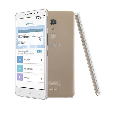 Alcatel A3 XL with KnowRoaming SoftSIM & Roam Now! app