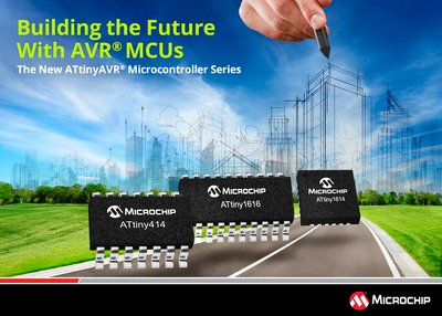 Building the Future With AVR MCUs: Microchip's New ATtinyAVR Microcontroller Series