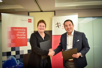 Helen Brand, Chief Executive of ACCA and Evan Law, Chief Executive of SAC signed an MOU to promote thought-leadership and professional development as strategic partners in the Accountancy Sector of Singapore