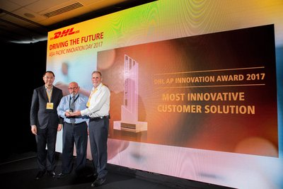 DHL Asia Pacific Most Innovative Customer Solution awarded to DHL Global Forwarding Australia in collaboration with Schindler Lifts