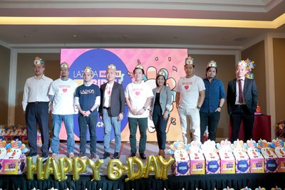 Lazada Co-Founder and CEO, Inanc Balci, with Brand VIPs