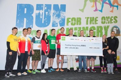 Goodman's Sixth Annual Interlink Magic Mile Charity Ramp Run Raises Over HK$1 Million for Feeding Hong Kong