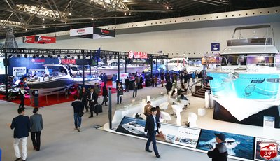 Luxury yacht area attracting the industries elite to see some of the finest craftsmanship in the world