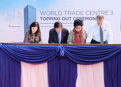 World Trade Centre 3 Tops Out in the Heart of Jakarta's CBD