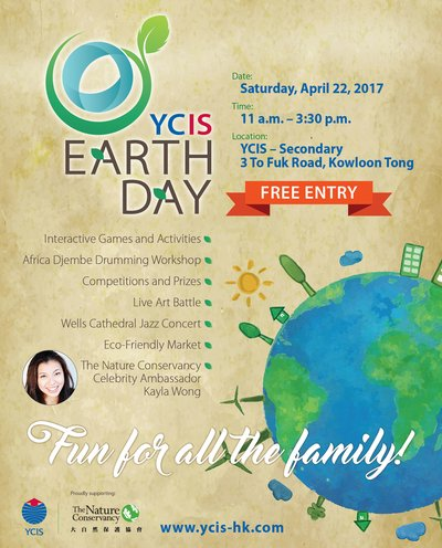 YCIS Earth Day, 22 April  2017