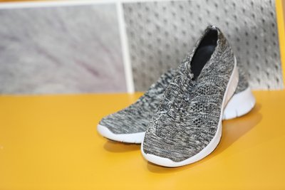 Athleisure shoes on display at Fashion Access