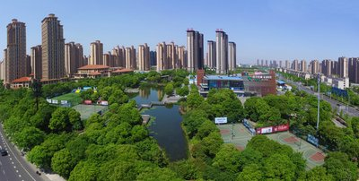 The ever evolving Changzhou National Hi-Tech District in Changzhou, China