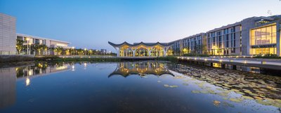 A view of Duke Kunshan University, jointly set up by Duke University, China's Wuhan University and the City of Kunshan.