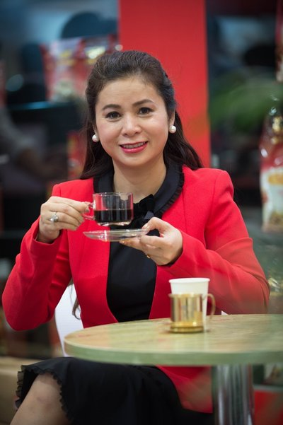 TNI Corporation CEO Le Hoang Diep Thao女士