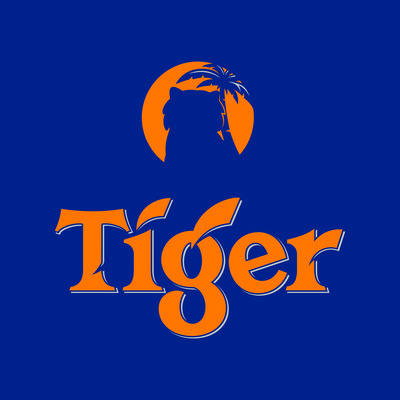 To show the world just how committed they are, Tiger Beer has removed the iconic tiger from their logo for the first time in 84 years as a powerful symbol that tigers are literally disappearing photo credit: Tiger Beer