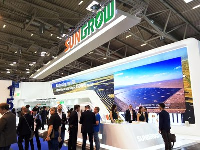 Sungrow's booth: Hall B3, 330