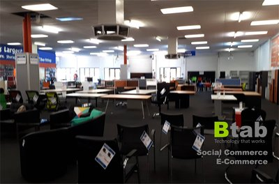 One of the Btab's e-commerce facilities in Australia with 3,500sqm space.