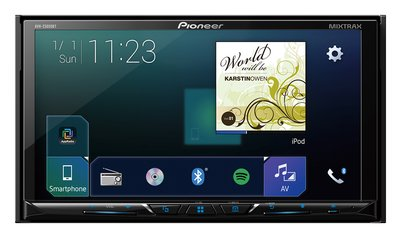 A simplified and more intuitive graphical user interface with the Pioneer AVH-Z5050BT multimedia receiver