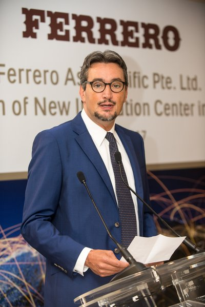 Mr Giovanni Ferrero, Chief Executive Officer, Ferrero International