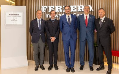 Mr Giovanni Ferrero, Chief Executive Officer, Ferrero International and Ferrero Executives