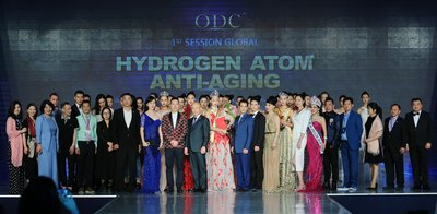 The 1st session global first hydrogen atom anti-aging brand, ODC, perfectly concludes