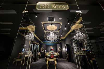 Fragrance Du Bois' flagship boutique at Scotts Square