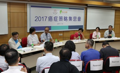 Various cancer patient group representatives gathered to discuss the difficulties confronting cancer patients and advocate the new government to address their needs.