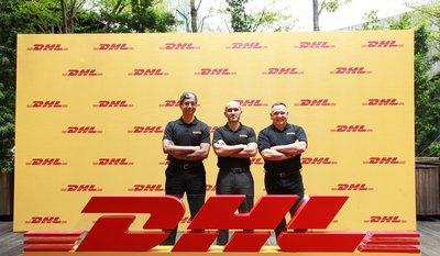 From left to right: Malcolm Monteiro, CEO, DHL eCommerce Asia Pacific; Thomas Harris -- Managing Director, DHL eCommerce Vietnam; Charles Brewer -- CEO, DHL eCommerce
