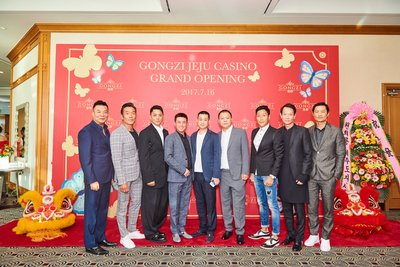 Over 500 guests were invited to join the grand opening of GONGZI Jeju Casino.