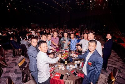 The representatives from gaming industry in Asia joined this splendid celebration