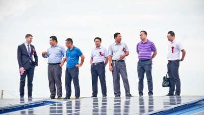 ACC & Huali Group Connect 4MW Rooftop Solar PV