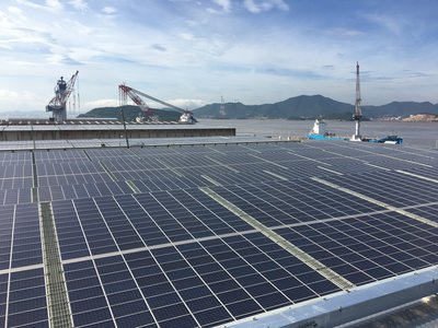 ACC & Tsuneishi Connect World's Largest BIPV Project