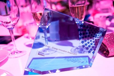 """Munters wins an award at the 2017 Europe Datacloud Awards for """"Industry Energy Innovation"""""""
