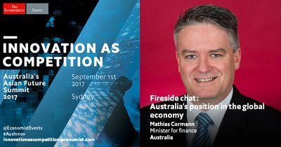 Australia's core industries: Out-gunned, out-priced and out-of business? Hear Matthias Cormann, Australia's finance minister discuss the future of Australia's core industries in Asia.