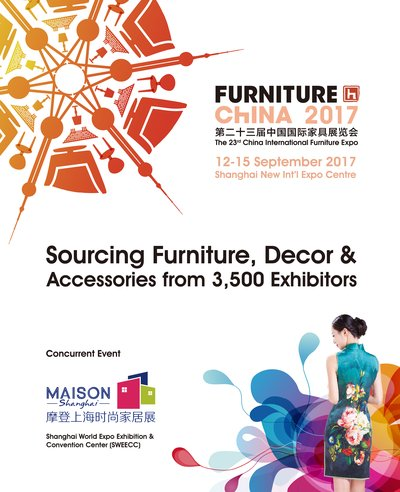 Furniture China - September 12-15, 2017 - SNIEC