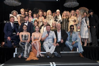 Celebrities strut the Dress for Success Sydney catwalk in fashion from 1900 to today